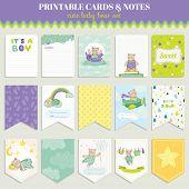 picture of bear  - Baby Bear Card Set  - JPG