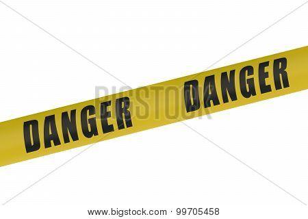 Danger Yellow Tape