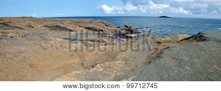 Dry Rock Landscape