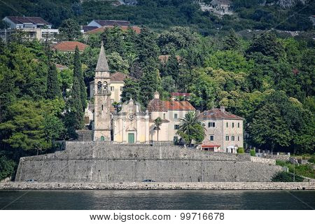 church Saint Matthew in Dobrota, Kotor Bay, Montenegro