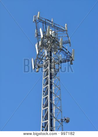 Antenna In Blue Sky 5