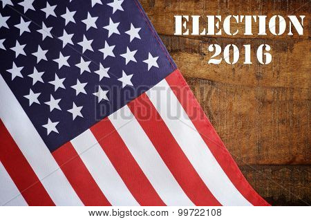 Usa 2016 Presidential Election Flag