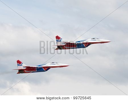 Two Mig-29 Swifts