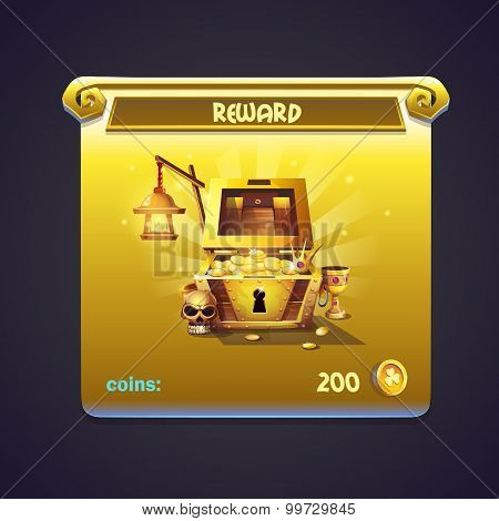 Example Of Window In A Computer Game Rewards
