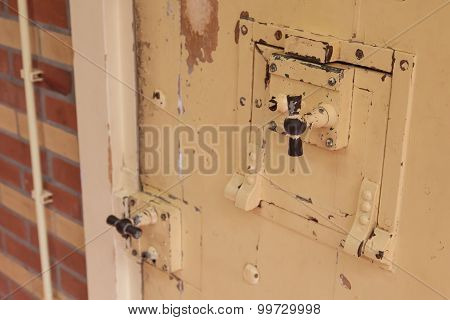 Old Lock In A Prison