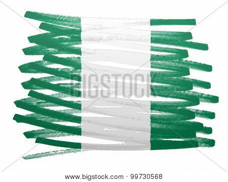 Flag Illustration - Nigeria