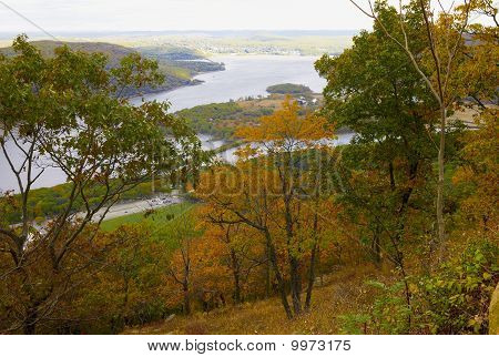 Autumn Colors on Bear Mountain, new York