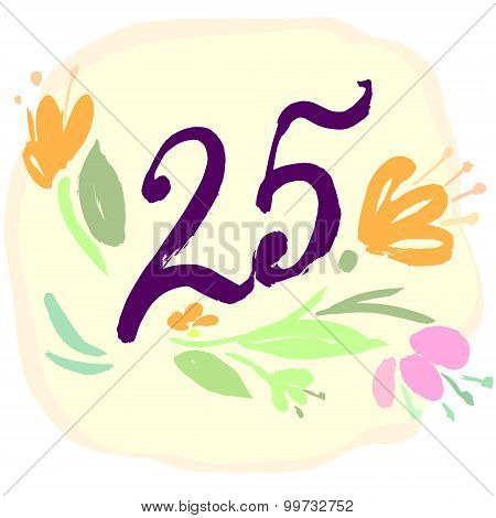Anniversary 25th signs