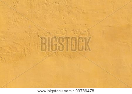 Lumpy Yellow Wall Background