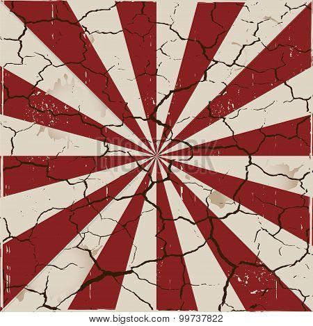Cracked ray grunge background