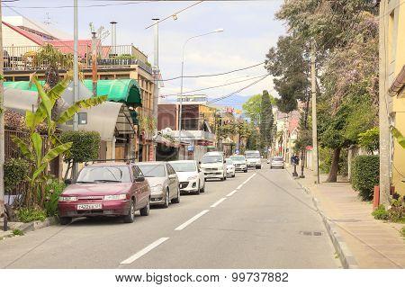 Adler. Sverdlov Street