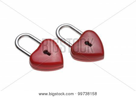 Tiny Heart-shaped Lock, Padlock, As Love Lock