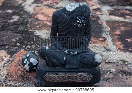 Ruin Head Buddha