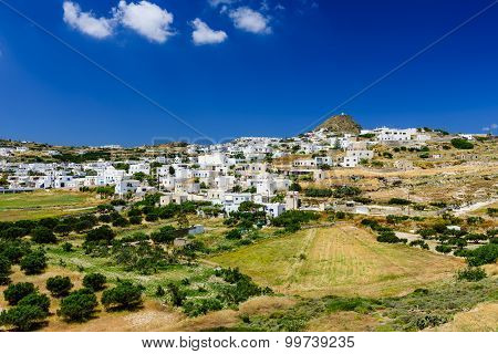Traditional Cycladic village