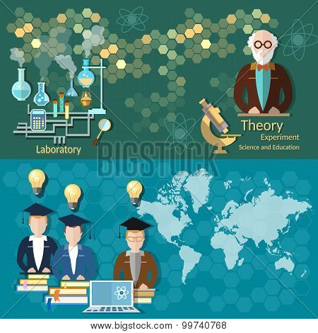 Science And Education Professors Students International Students Online Training College University