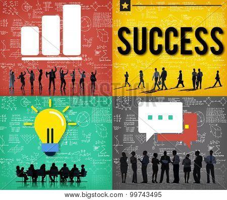 Success Goal Achievement Accomplishment Successful Concept