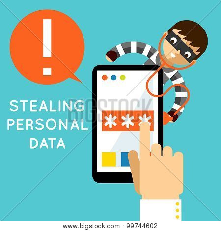 Stealing personal data