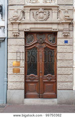 Historic Entry Door