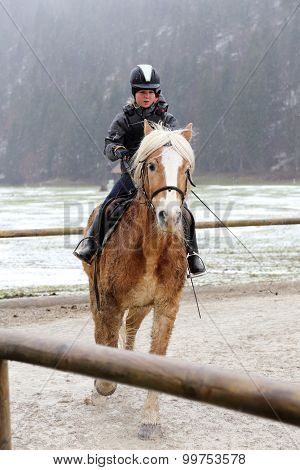 riding in winter
