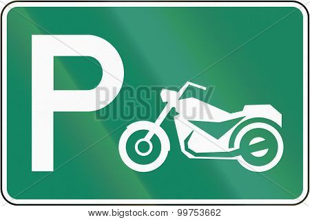 Parking Place For Motorcycles In Canada
