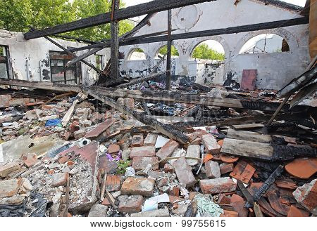 Sweatshop After Fire