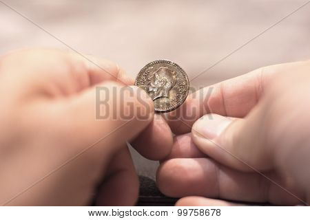 Happy New Year Coin