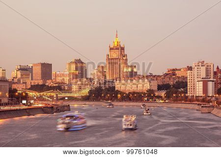 Moscow River.