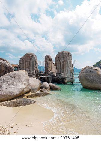 sea and nature of NangYuan and Tao island