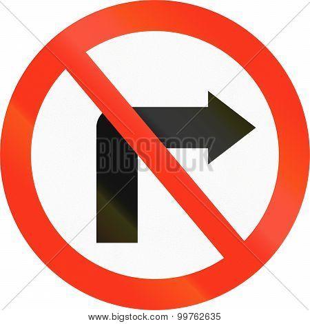No Right Turn In Bangladesh