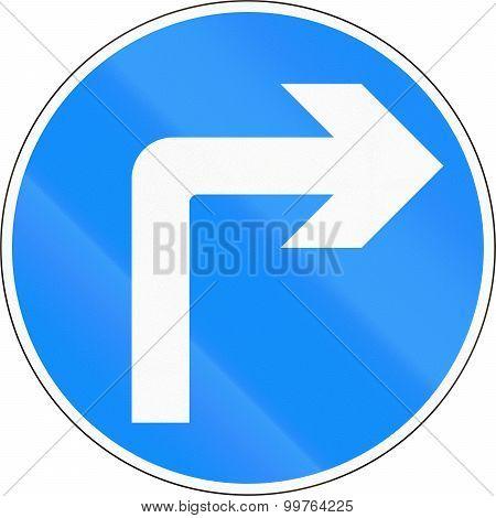Turn Right Ahead In Bangladesh