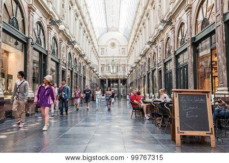 Galerie De La Reine In Brussels