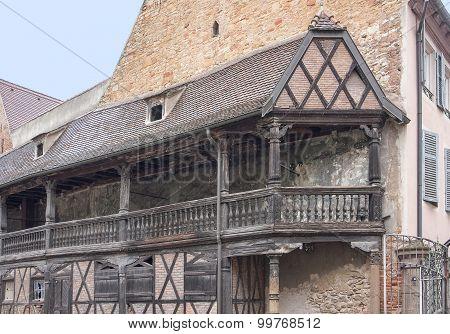 Historic Balcony