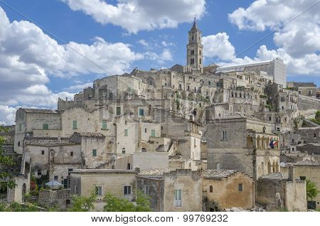 Ancient town of Matera in Basilicata,Italy