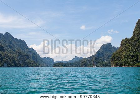 Beautiful Mountains And Lake