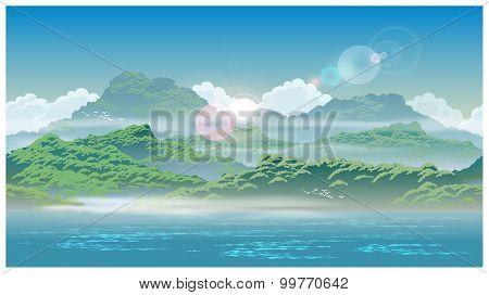 Overgrown Coast