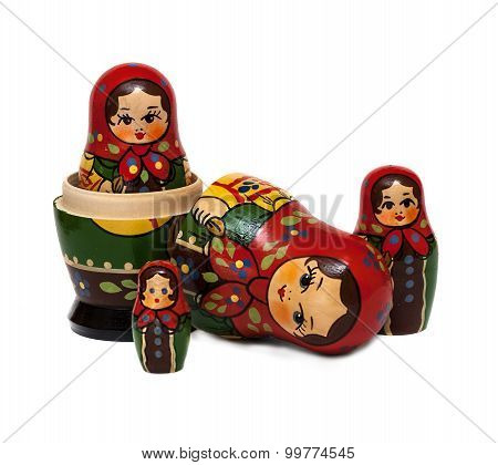 Russian Wooden Doll Matryoshka