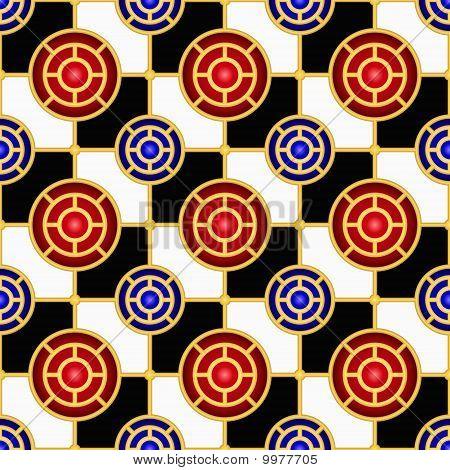 Checkerboard Seamless Pattern