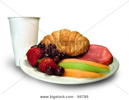 Breakfast Platter With Cup