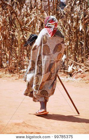 The Return At Home To Pomerini Village In Tanzania, Africa 701
