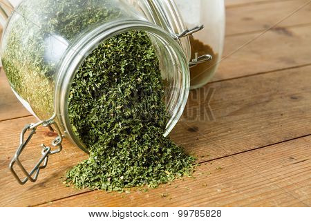 Middle Eastern Cuisine: Dried Parsley