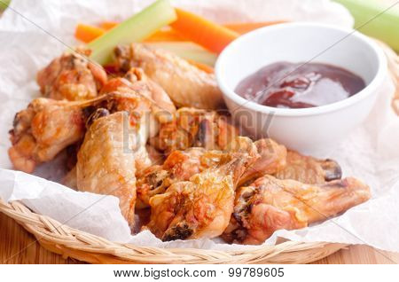 Dry Chicken Wings With No Sauce