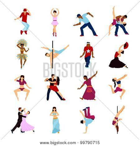 People Dancing Set