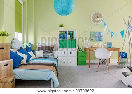 Spacious Kid Room