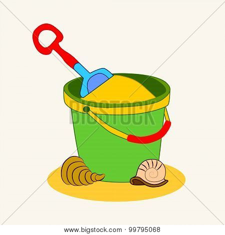 A Bucket Of Sand