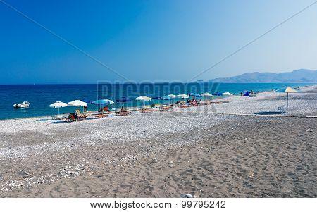 Haraki Beach Rhodes