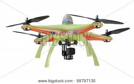 Drone Ambulance Closeup
