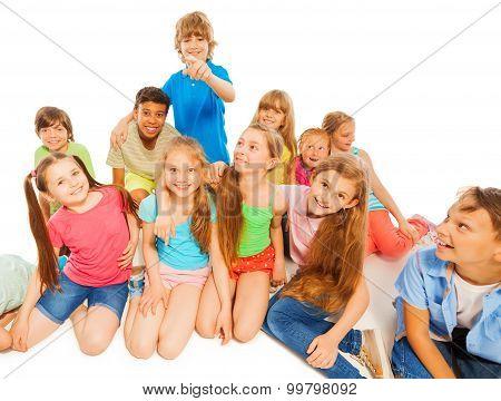 Kids happy together
