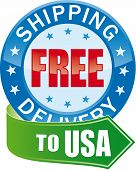 stock photo of ship  - Free Shipping  for USA  - JPG
