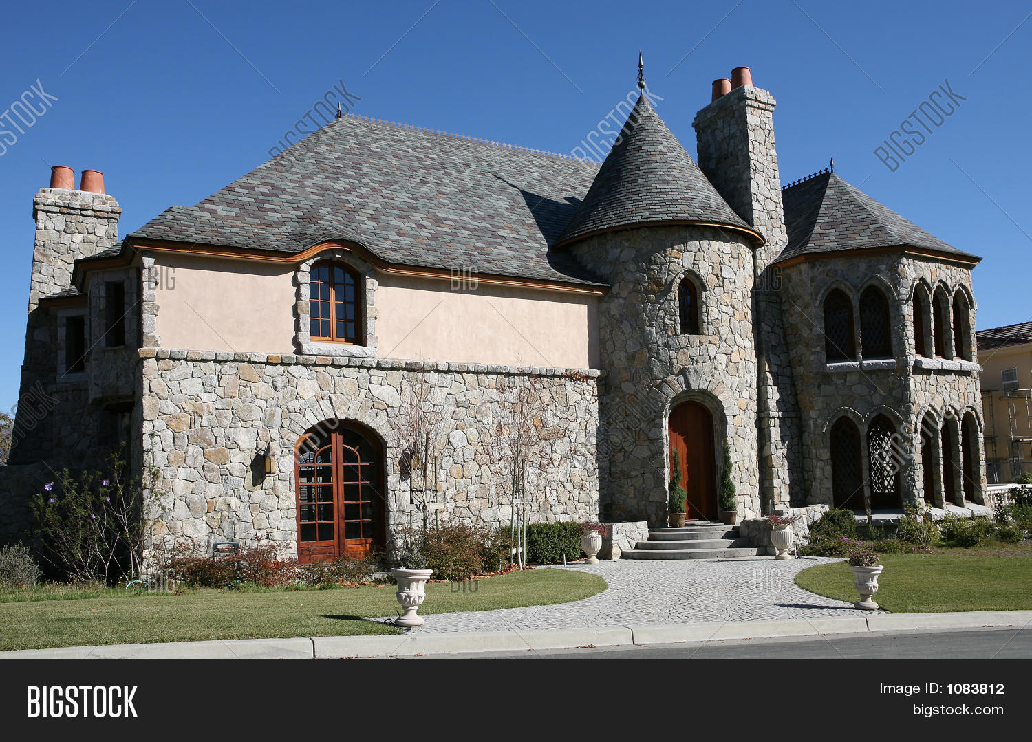 Castle style home image photo bigstock for Castle style homes