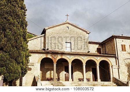 San Quirino Church In San Marino